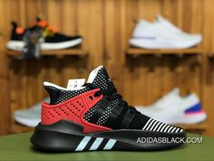 Adidas Originals EQT Equipment BASK ADV AQ1013 Running Shoes Core  Black Footwear White Hi-Res Red New Style dc2a866af