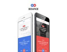 """다음 @Behance 프로젝트 확인: """"Bounce"""" https://www.behance.net/gallery/46692039/Bounce"""