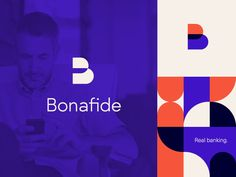Bonafide Banking Bonafide Banking Branding 2 by City Branding, Bank Branding, Tech Branding, Corporate Branding, Brand Identity Design, Branding Design, Banks Logo, Logo Simple, Education Logo