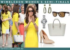 "Kate's Closet on Twitter: ""The Duchess of Cambridge was a ray of sunshine at #Wimbledon yesterday"