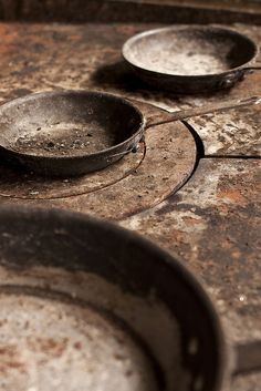 rusty skillets