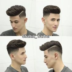 24 Amazing Latest Hairstyles & Haircuts for MEN'S Guys Take a look below top 25 cool images of men's new hairstyles, all of popular haircuts, taper to quiff , fade to pompadour are include in it below the gallery of men's latest hairstyles and haircuts. Mens Hairstyles With Beard, Trendy Mens Haircuts, Cool Hairstyles For Men, Hair And Beard Styles, Latest Hairstyles, Hairstyles Haircuts, Curly Hair Styles, Hair Styles For Boys, Popular Haircuts