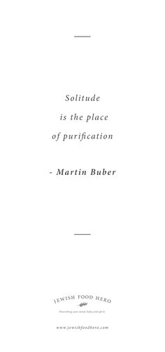 Martin Buber Quotation