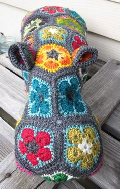 OMG the crocheted hippo is the cutest ever!