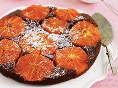 Grapefruitkuchen mit schwarzem Pfeffer