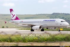 FreeBird Airlines A320 TC-FBR aircraft at Cluj Napoca - Someseni photo