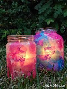 decoupage eid lanterns