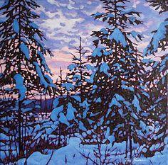 Snow pillows / Artist: Tim Packer #tree #art