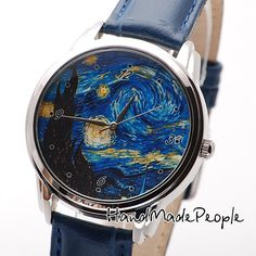 Van Gogh Starry Night Watch, Сlassical Wrist Watch, Watches, Wristwatch, Ladies Watch, Anniversary Gift, Gift Idea - Free Shipping Worldwide...