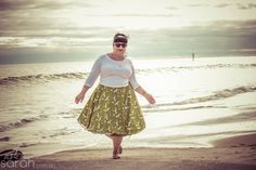 Sew: Inside Out, Round & Round Skirt Tutorial  {No Hem Reversible Wrap Circle Skirt}