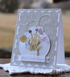Don't Lose Hope Card by Amy Sheffer for Papertrey Ink (March 2015)