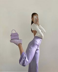 Fashion Tips Outfits .Fashion Tips Outfits Purple Outfits, Boho Outfits, Trendy Outfits, Fashion Outfits, Fashion Tips, Blue Skirt Outfits, Simple Summer Outfits, Pastel Outfit, Hipster Outfits