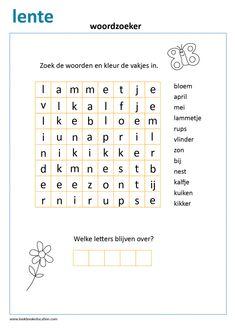 Werkblad Thema Boerderij | Zoek de Schaduw - LookbookEducation.com/nl Learn Dutch, Dutch Language, Indoor Activities For Kids, School Readiness, Letter B, Kids Learning, Kids Playing, Spelling, Homeschool