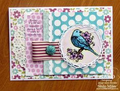 Unity Stamp Co. - Design Team Member - Shilo Miles - Using the Stamp of the Week - {Bird With A French Fry} htttp://www.unitystampco.com