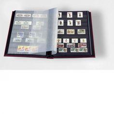 Leuchtturm Einsteckbuch DIN A4 32 schwarze Seiten wattierter Einband
