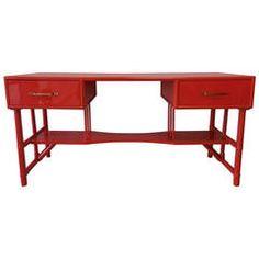 Slender Tommi Parzinger Desk for Willow and Reed