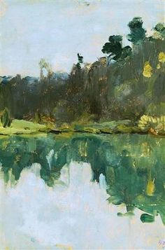 Lakeshore - Isaac Levitan
