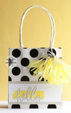 Reverse Confetti   Special April Release   Tassel Confetti Cuts die, Hello Confetti Cuts die, Color Me Happy