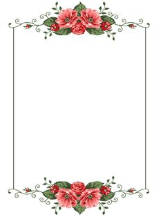 Floral watercolor roses vintage style invitation card measuring 7 x 5 ideal for wedding, engagement, mothers' day, birthday, etc in 2019 Flower Background Wallpaper, Framed Wallpaper, Flower Backgrounds, Iphone Wallpaper, Frame Border Design, Page Borders Design, Photo Frame Design, Invitation Background, Flower Invitation