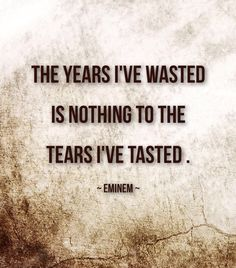 "Eminem quote from ""Hailie's Song"" Eminem Tattoo, Eminem Lyrics, Eminem Rap, Rap Lyrics, Eminem Memes, Ems Quotes, Hip Hop Quotes, Song Quotes, Life Quotes"