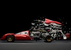 Fabian Oefner explose les plus belles voitures
