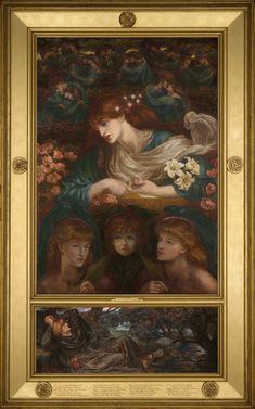 Dante Gabriel Rossetti, The Blessed Damozel, 1871
