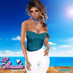 💟💟💟 Visita 22amanda Shop 💟💟💟 💟22a_Aqua Corset http://es.imvu.com/shop/product.php?products_id=31731467  💟22a_Leggings White RL http://es.imvu.com/shop/product.php?products_id=33739941  💟22a_Timeless Choker V.2 http://es.imvu.com/shop/product.php?products_id=33021545