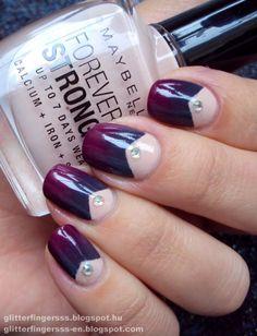 Beautiful nail design.