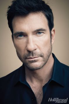 He is so beautiful! Tall, dark, handsome, and beautiful blue eyes! My childhood crush from miracle on street :) Famous Men, Famous Faces, Beautiful Blue Eyes, Beautiful Men, Dylan Mcdermott, Fall Tv, Star Wars, Hot Hunks, The Hollywood Reporter