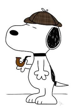 Sherlock, Peanuts, Snoopy