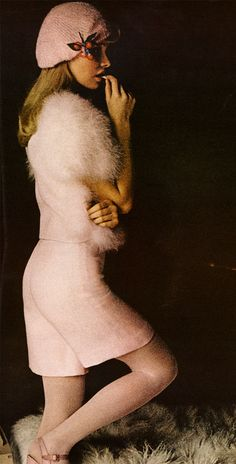 "Sonia Rykiel ensemble in ""Vogue,"" 1972"