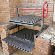 Asado Grill, Bbq Grill, Barbecue, Grilling, Santa Maria Grill, Argentine Grill, Firewood Holder, Barn Kitchen, Pizza Oven Outdoor