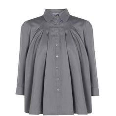 328b49010 Trapeze Blouse   Outsider   Wolf & Badger Librarian Chic, Mother Of  Pearl Buttons
