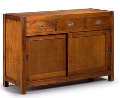 Muebles Portobellostreet.es: Aparador 3 Cajones Flamingo - Aparadores Coloniales - Muebles Coloniales y Muebles Rústicos