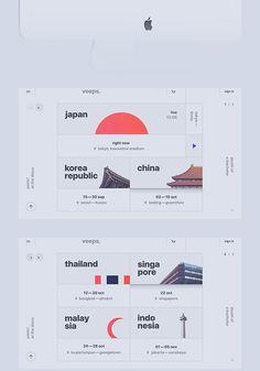 : on Behance: veeps.: on Behance Graphisches Design, Web Ui Design, Web Design Company, Layout Design, Responsive Web Design, Graphic Design, Website Design Inspiration, Wireframe, Web Design Tutorial