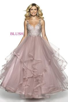 Check out the latest Blush Prom 5719 dresses at prom dress stores authorized by the International Prom Association. Blush Prom Dress, Tulle Prom Dress, Pageant Dresses, Quinceanera Dresses, Homecoming Dresses, Bridal Dresses, Dress Up, Girls Dresses, Flower Girl Dresses