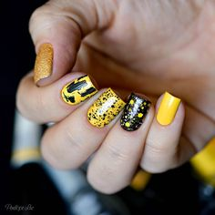 Mix'n Match com Amarelo e Preto
