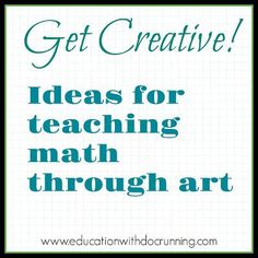 Math Mondays: Using art to teach math concepts | Education with DocRunning