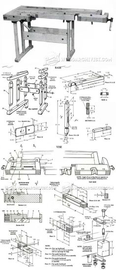 Workbench Plans - Workshop Solutions Plans, Tips and Tricks | WoodArchivist.com