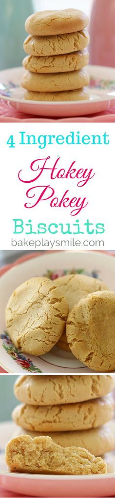 The most deliciously simple Hokey Pokey Biscuits