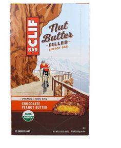 Organic Energy Bar Chocolate Peanut Butter Flavor 12 Energy Bars 1.76 oz Box #ClifBar