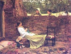 Good Neighbors - John William Waterhouse
