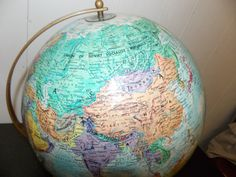 Vintage 12 Replogle Globe World Classic by PfantasticPfindsToo