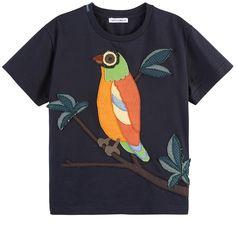 Dolce & Gabbana - T-shirt avec patch brodé - 151181