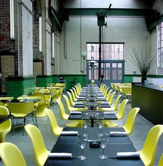 The Wapping Project Cafe | London. I need a space like this in NY :-/