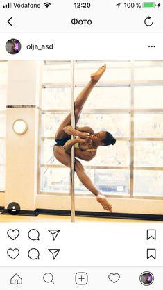 Pole Dance Moves, Pole Dance Fitness, Yoga Dance, Pole Dancing, Aerial Acrobatics, Pole Tricks, Pole Art, Dance Photography, Pilates Reformer