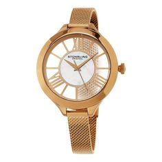 Stuhrling Original Women's Mesh Bracelet Watch *** Click on the watch for additional details.