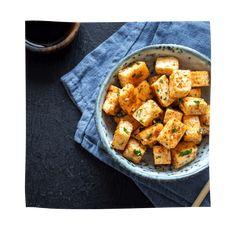 Schnelle Wokpfanne mit Tofu - TCM Tofu, Sweet Potato, Potatoes, Vegetables, Flavored Rice, Kochen, Potato, Veggies, Vegetable Recipes