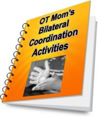 OT Mom's Bilateral Coordination Activities E-Book-activities for kids, instructions, and activity planner. From  OT Mom Learning Activities. Pinned by SOS Inc. Resources @sostherapy.