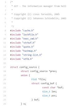 linus torvalds git code